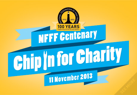 NFFF Chip In For Charity Logo
